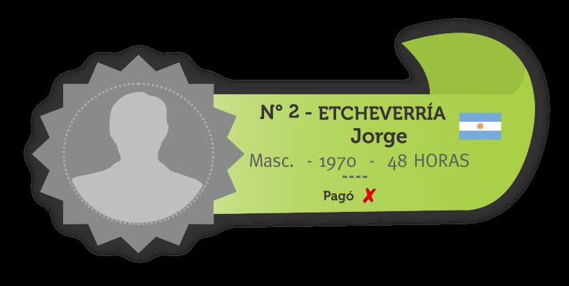 JORGE ETCHEVERRIA
